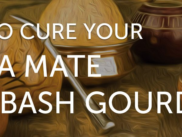 How to cure a Yerba Mate calabash gourd?