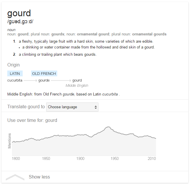 Yerba Mate Gourd meaning on Google
