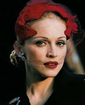 Madonna In Evita Movie